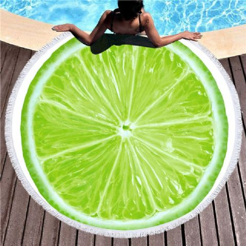 Beach Towels - Lime